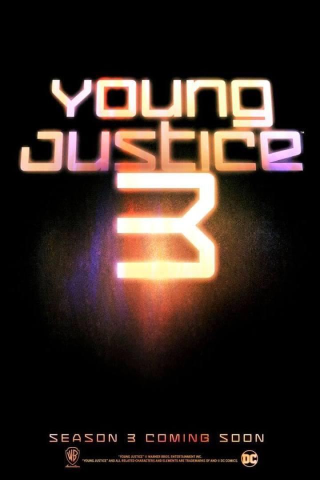 Young Justice Justiça Jovem temporada 3