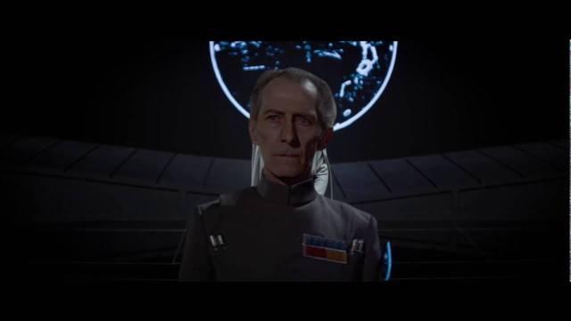 grand moff tarkin rogue one - uma história star wars