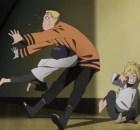 Himawari Byakugan ataque em Naruto