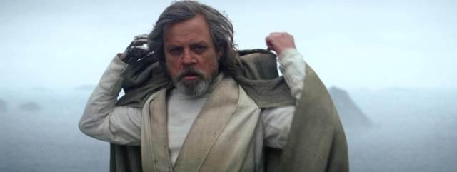 star wars episódio 8 Luke Skywalker Jedi Cinza