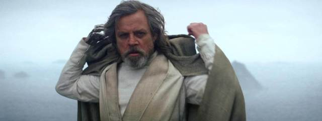 star wars episódio 8 Luke Skywalker Jedi Cinza