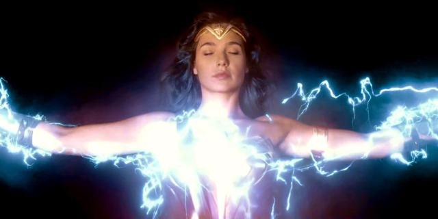 Mulher Maravilha poderes elétricos