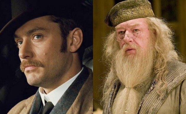 Jude Law Dumbledore Animais Fantásticos e Onde Habitam 2