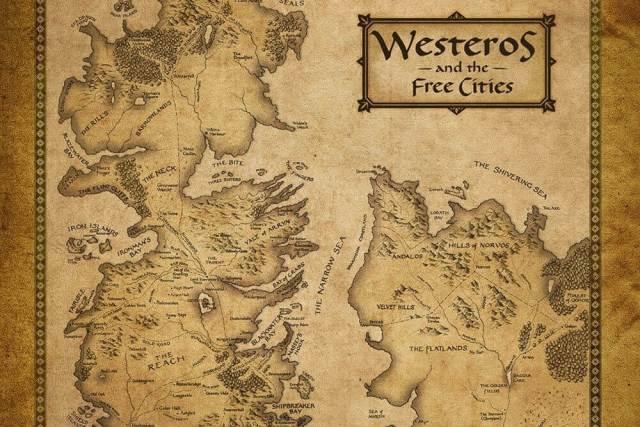 mapa dos 7 sete reinos de game of thrones westeros cidades livres