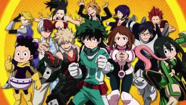 Boku No Hero Academia personagens secundários