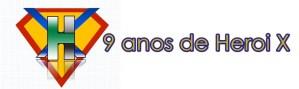 Capa Heroi X minimalista logo