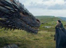 Game of Thrones temporada 8 Jon Snow Drogon
