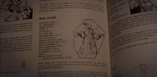 Devorador de Mentes D&D stranger things 2 temporada easter eggs referencias referências