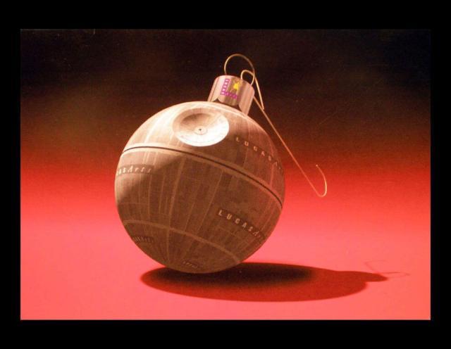 Star Wars natal estrela da morte