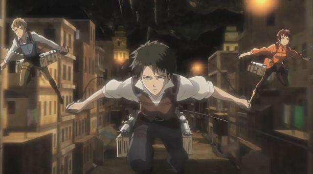 Shingeki No Kyojin No regrets levi