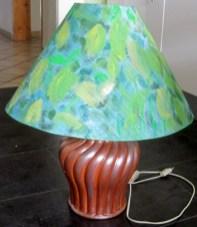 Lampenfuß und -schirm