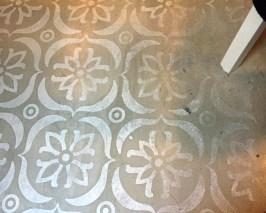 Fußbodengestaltung