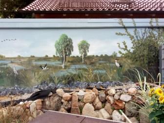 Angepasst an Teich und Garten