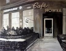 Ehemaliges Café Nowka in Hannover (80 x 100 cm)