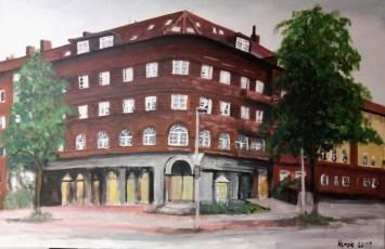 Wohnhaus Hannover (80 x 100 cm)