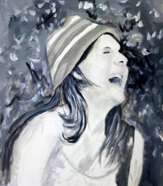 Junges Mädchen (50 x 60 cm)