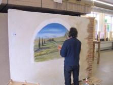 G A F A 2012 Wandgestaltung live