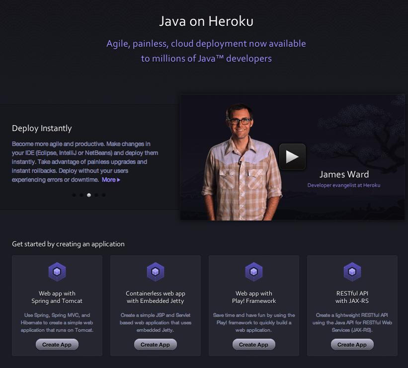 Java Template Apps On Heroku Heroku