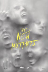 X-men New Mutants poster