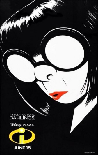 Incredibles 2 Edna Mode Poster