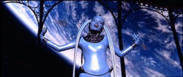 Maivenn as Diva Plavalaguna in Fifth Element (1997) Luc Besson