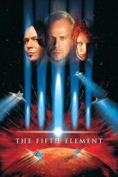 Fifth Element (1997) poster Luc Besson Bruce Willis Gary Oldman Milla Jovovich