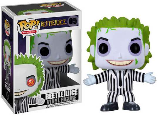 Beetlejuice Funko Pop figurine