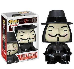 V for Vendetta Funko Pop figurine