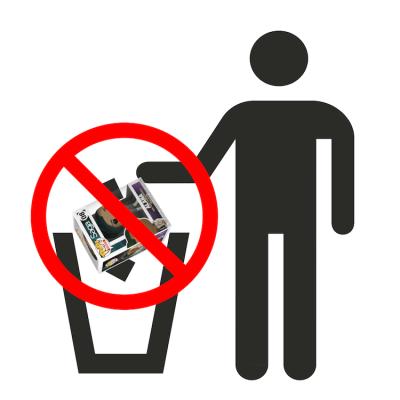 Don't trash Funko Pop boxes!