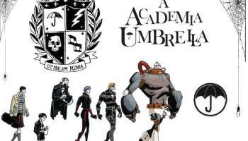 The Umbrella Academy created by Gerard Way and Gabriel Ba