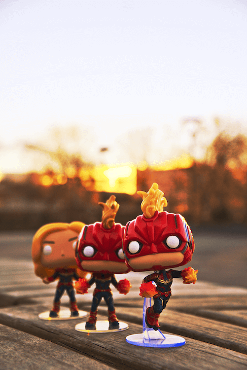 Captain Marvel Funko Pop MCU Carol Danvers