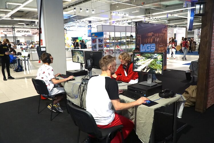 Warsaw Comic Con: Gaming section