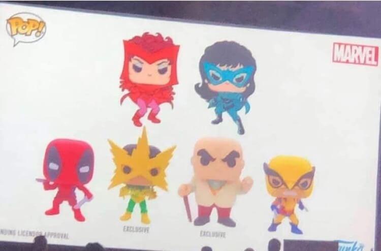 Funko Pop announcements Marvel