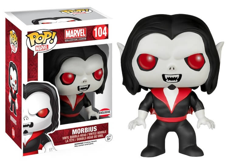 Morbius Funko Pop Marvel Collector Corps Exclusive