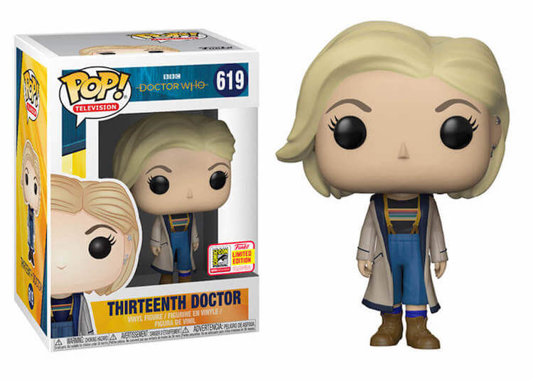 The Doctor Funko Pop SDCC 2018 Exclusive