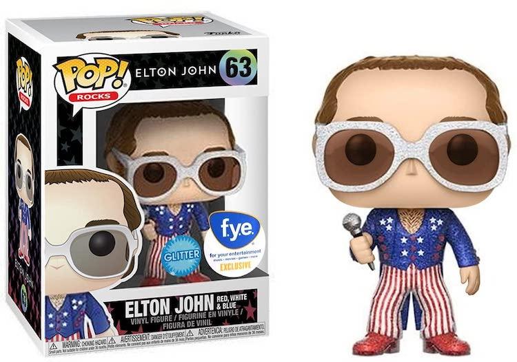 Elton John Funko Pop Glitter