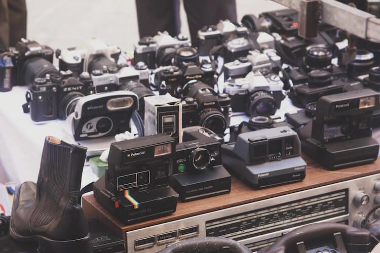 Polaroid cameras