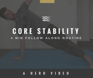 HERO Movement - core stability routine