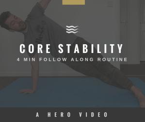 HERO Movement - core stability routine