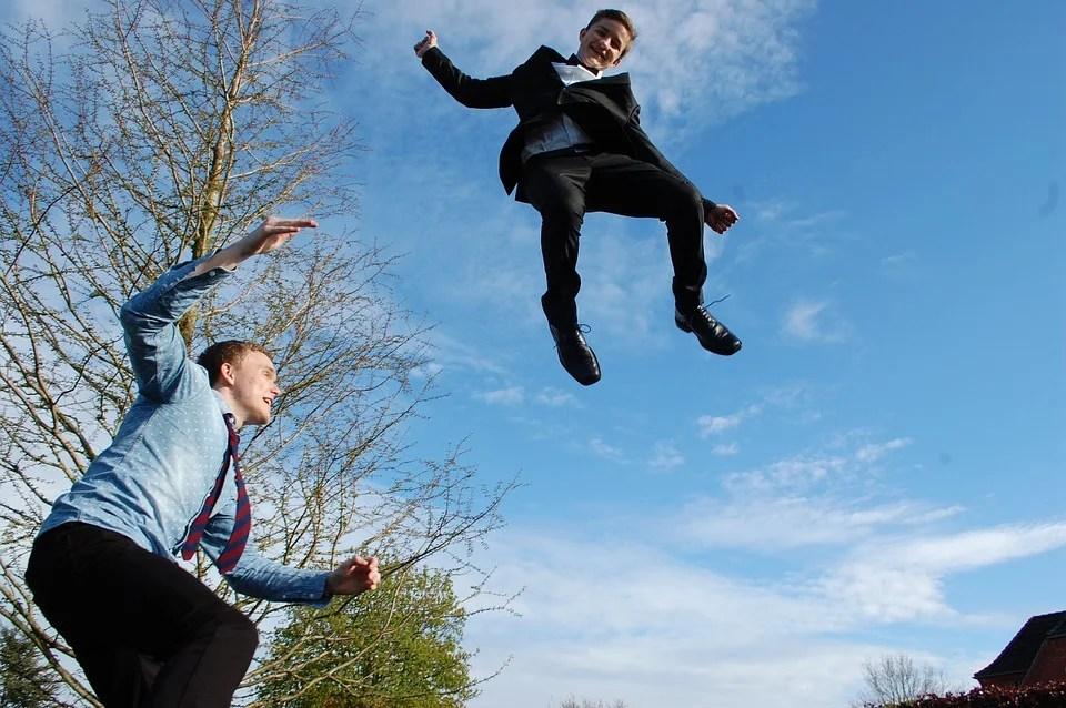 Le trampoline de fitness, sport et détente en un saut
