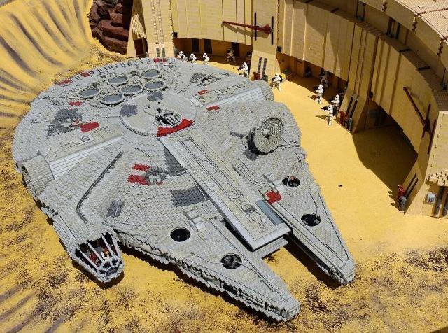Lego et Star Wars, un accors gagnant-gagnantt
