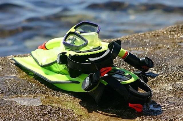 Un matériel tout simple pour le snorkeling