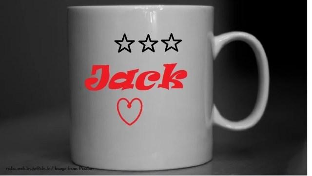 Le mug personnalisé de Jack