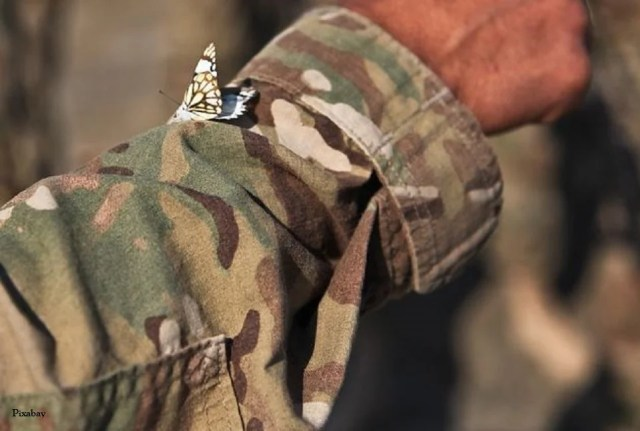 imprimé camouflage efficace