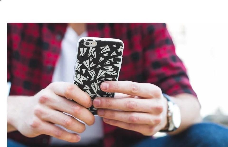 Coque personnalisée pour téléphone portable