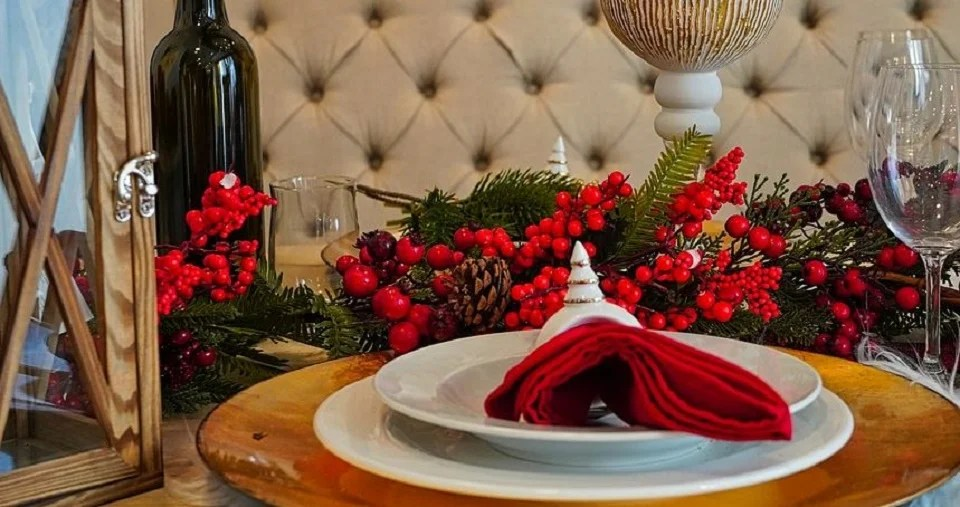 Jolie table pour Noël sans stress
