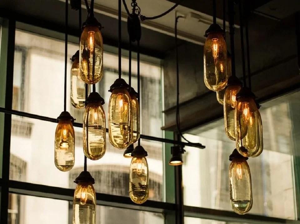 Le luminaire industriel version loft