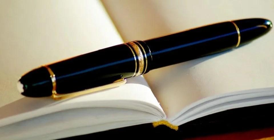 Un stylo de luxe pour homme raffiné