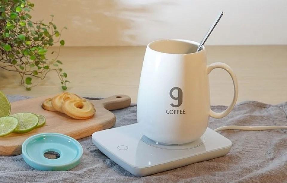chauffe-tasse USB design
