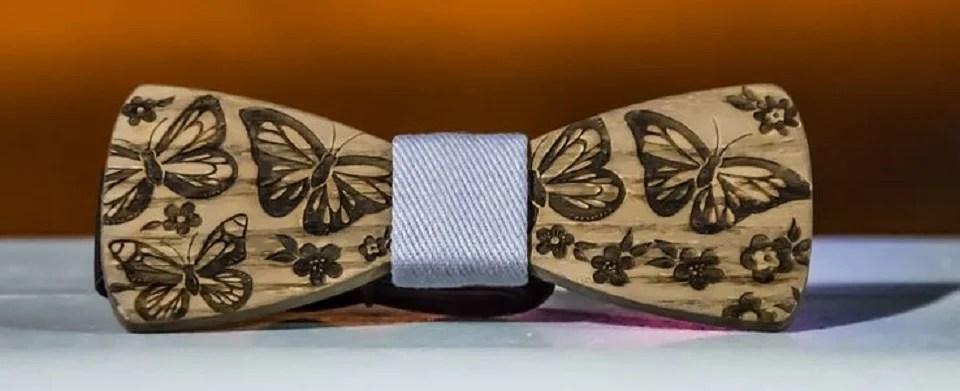 nœud papillon bois pour homme